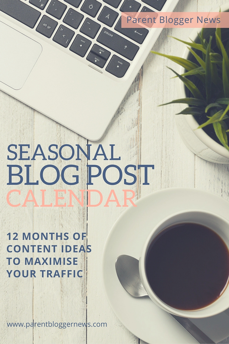 Blog Post Seasonal Topic Calendar