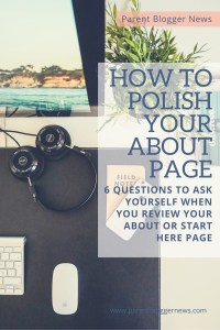 How to polish your about page