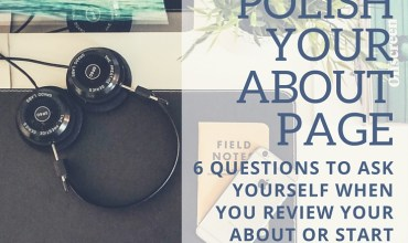 How to polish your blog's 'About Page'