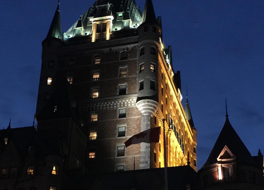 25 ans servicas chateau frontenac