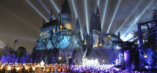 Inauguration du château de Poudlard à Orlando en Floride