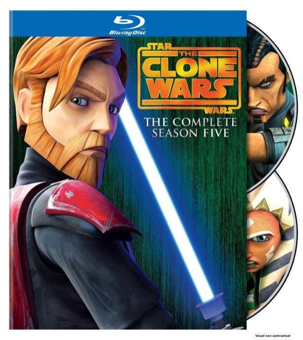 Star Wars - The Clone Wars - Saison 5 Blu-Ray