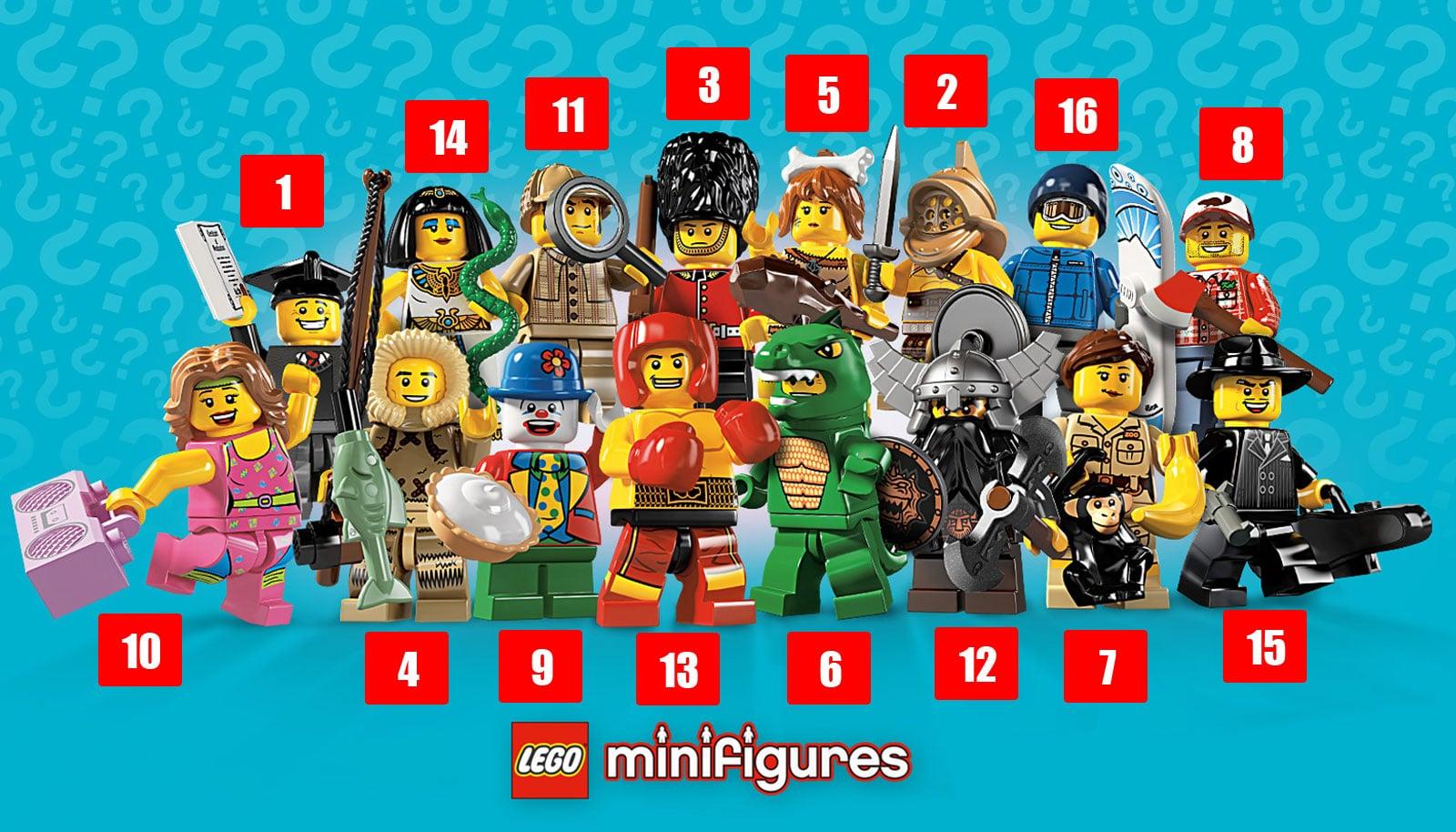 Ultime Pour Identifier Guide Figurines 5Le Les Série Lego Yfgy76vb