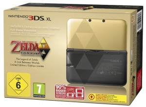 3DS XL Zelda