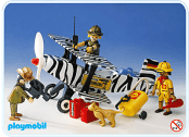 Playmobil - Avion safari 1981