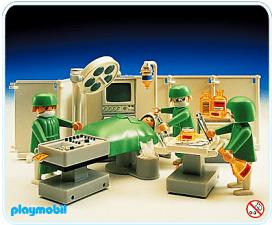 Playmobil - Chambre d'hôpital 1985
