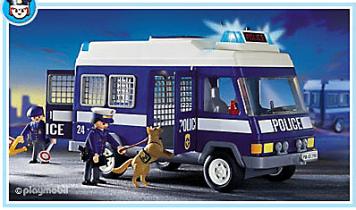 Playmobil - Fourgon police 2002