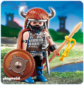Playmobil - Guerrier barbare 2008