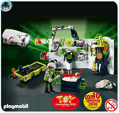 Playmobil - Laboratoire 2010
