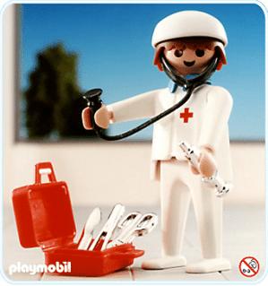 Playmobil - Médecin urgentiste 1987