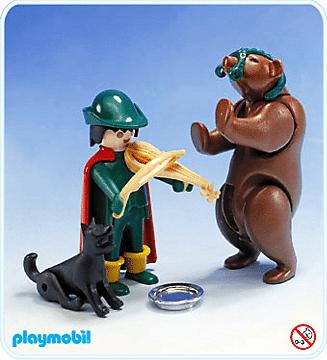 Playmobil - Monteur d'ours 1981