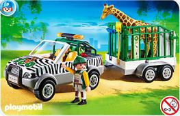 Playmobil - Véhicule zoo 2010