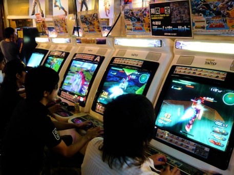 arcade gundam fighting
