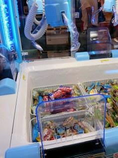 arcade pinces glaces