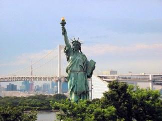 odaiba statue liberté