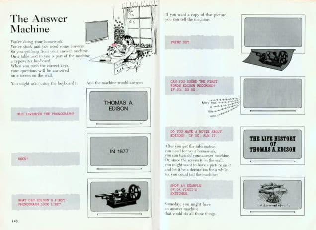 1971 : la machine à réponses