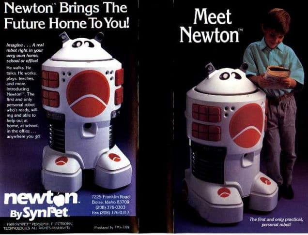 Années 80 : robot personnel