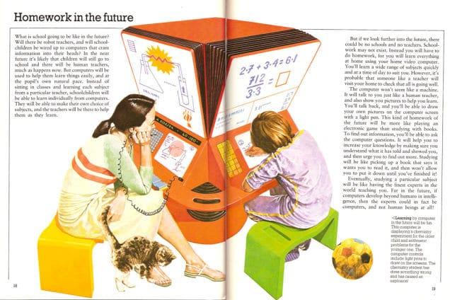 1981 : la machine à devoirs