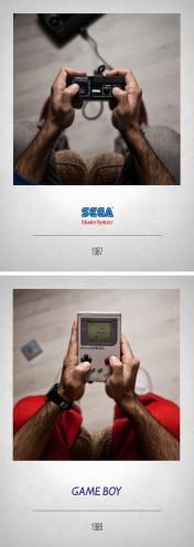 1987 Master System - 1989 Game Boy