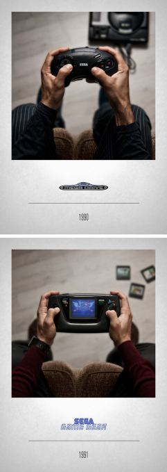 1990 Megadrive - 1991 Game Gear
