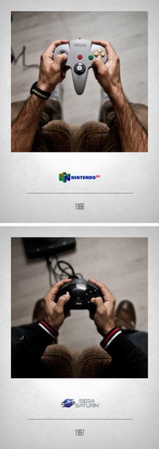 1996 Nintendo 64 - 1997 Sega Saturn