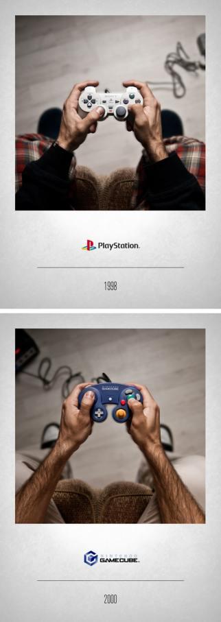 1998 Playstation - 2000 Gamecube