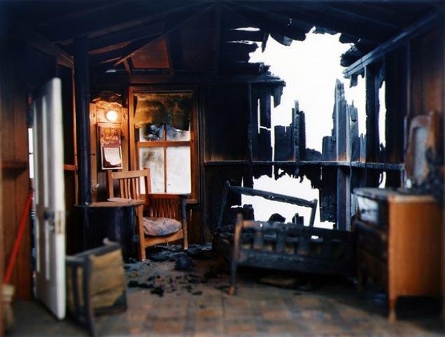 4. Corinne Botz. Burned Cabin