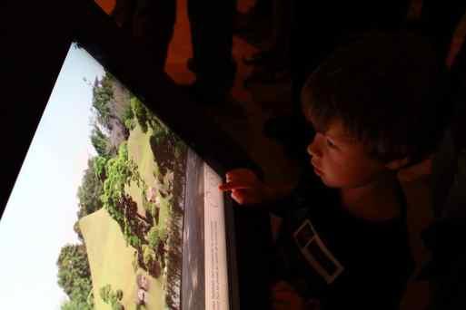 Ecran tactile : les jardins japonais