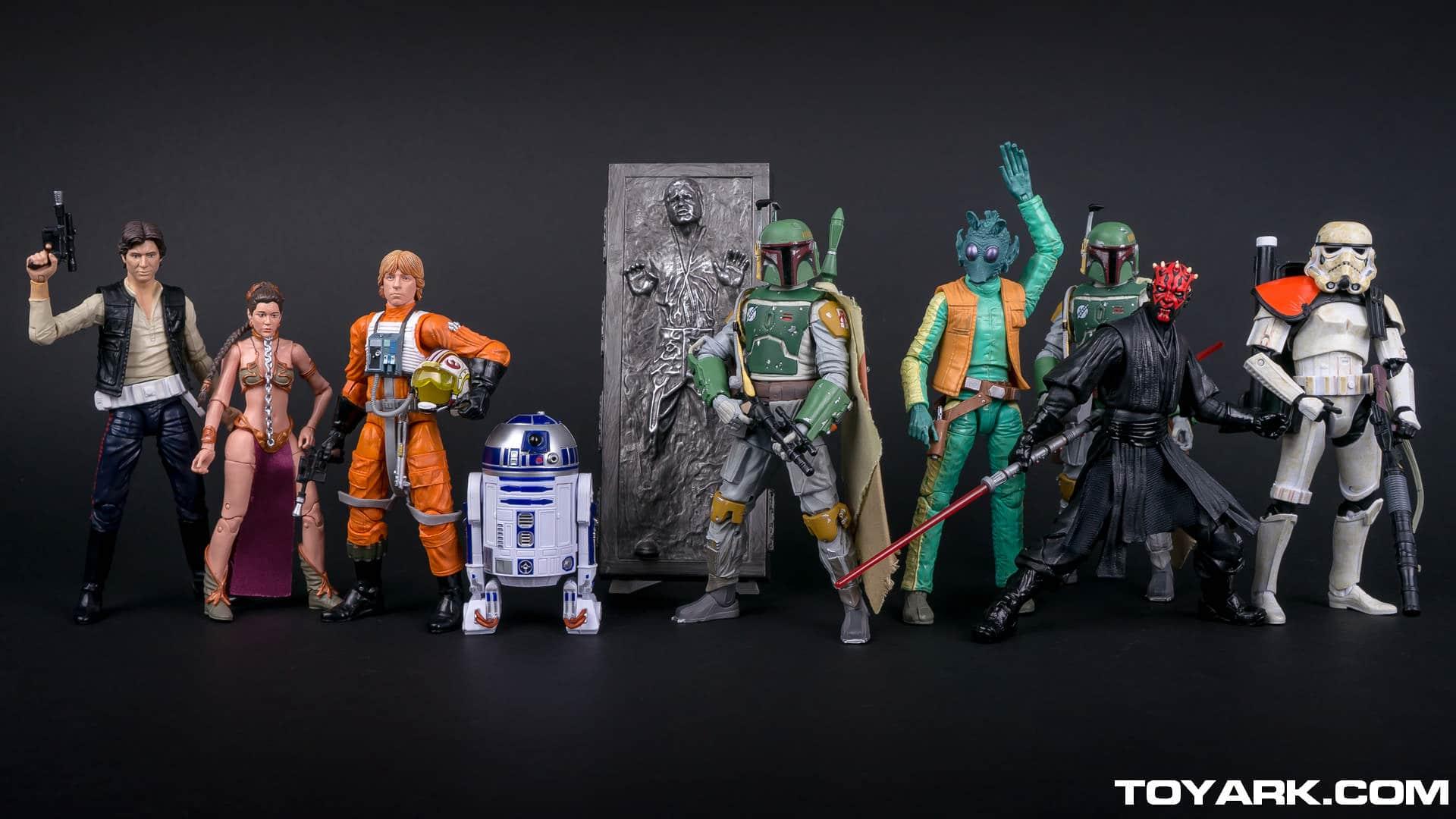 figurine 40 ans star wars
