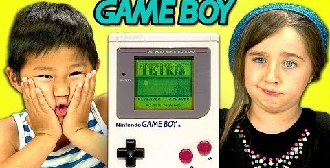 Enfants d'aujourd'hui Vs. Game Boy (the original)