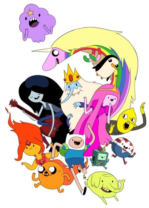 Personnages Adventure Time