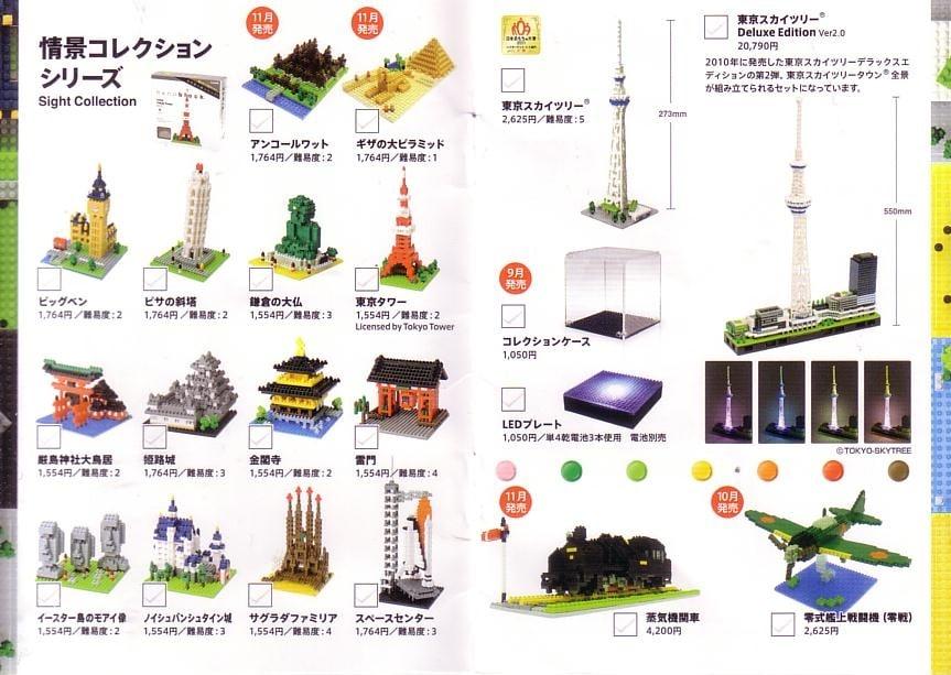 nanoblocks les lego miniatures japonais guide du parent galactique. Black Bedroom Furniture Sets. Home Design Ideas