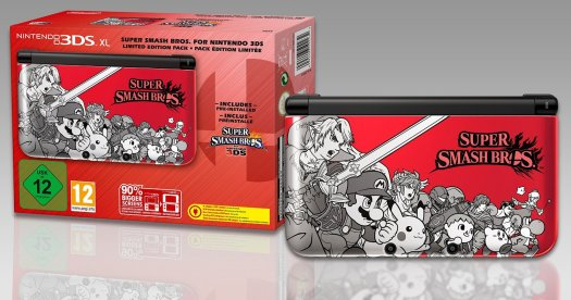 3DS smash bros