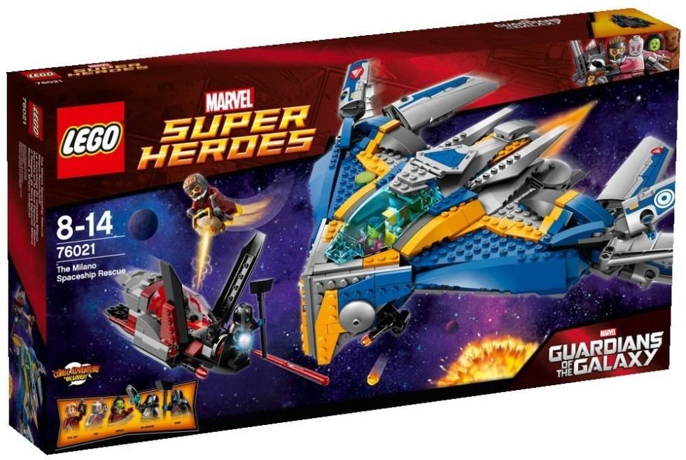 Lego Gardiens de la Galaxie - Le Sauvetage du Vaisseau Milano