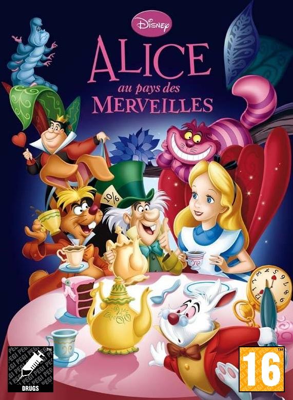 PEGI Alice au pays des merveilles