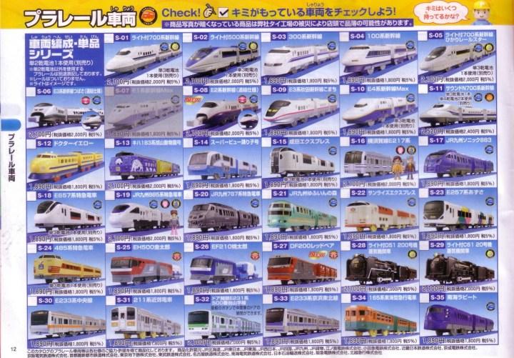 catalogue plarail 2