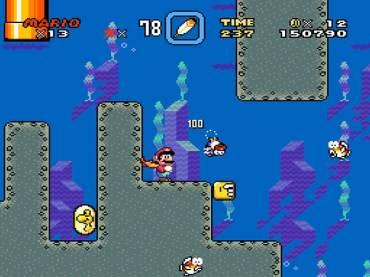 Super Mario World - Super NES