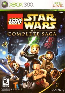 Lego Star Wars The Complete Saga : jeu vidéo basé sur des jouets basés sur des films