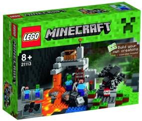 Lego Minecraft La Grotte