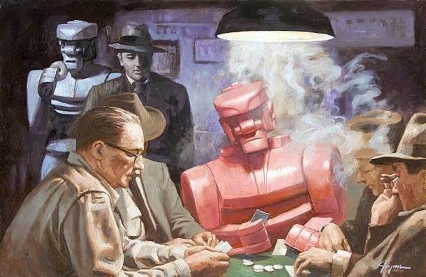 Robot Poker