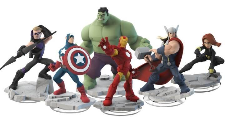 Disney Infinity - Figurines Avengers