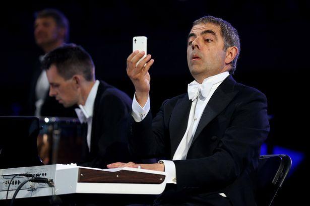 Rowan Atkinson, un autre diplômé dOxford