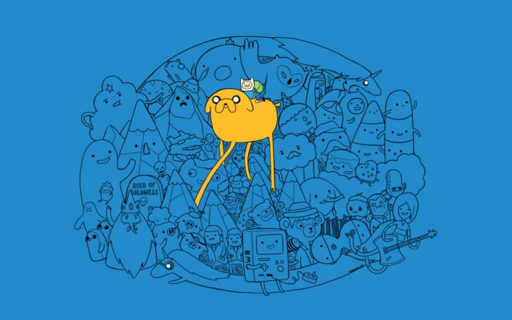 Fond d'écran : Adventure Time - Personnages