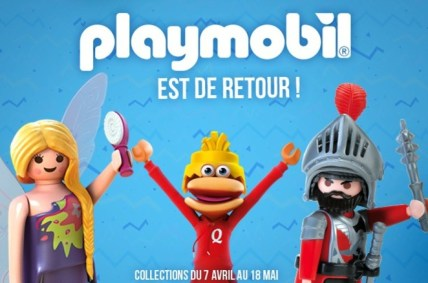 Playmobil chez Quick 2015