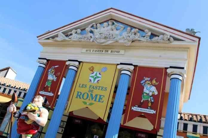 Restaurant Les Fastes de Rome