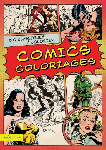 Couv Comics coloriages