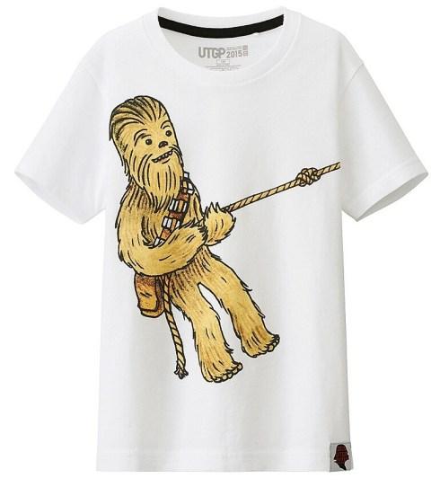 T-Shirt Star Wars Uniqlo Enfant (1)