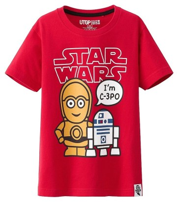 T-Shirt Star Wars Uniqlo Enfant (4)