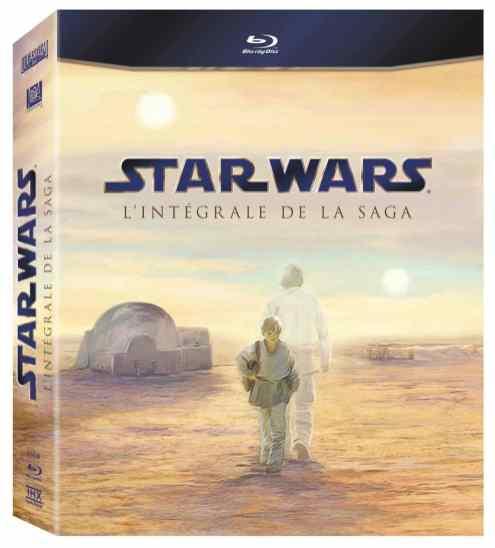 Star Wars - Intégrale Blu-Ray 2011