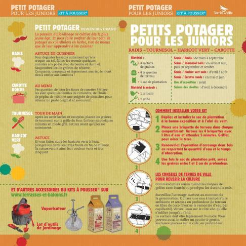 Kit à Pousser Junior Mini Potager (2)